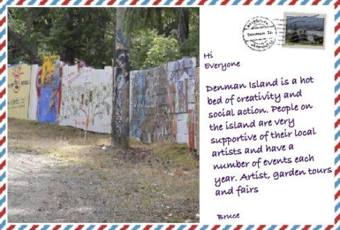 Denman Island – Year round creativity